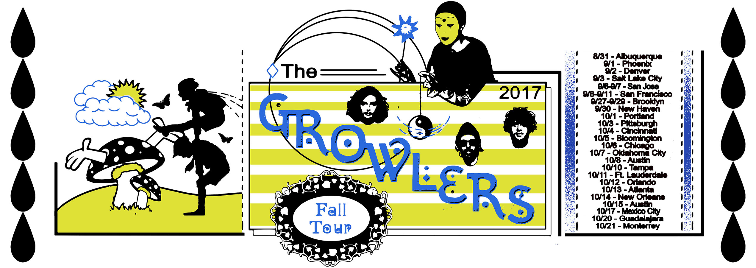 The Growlers Fall Tour 2017